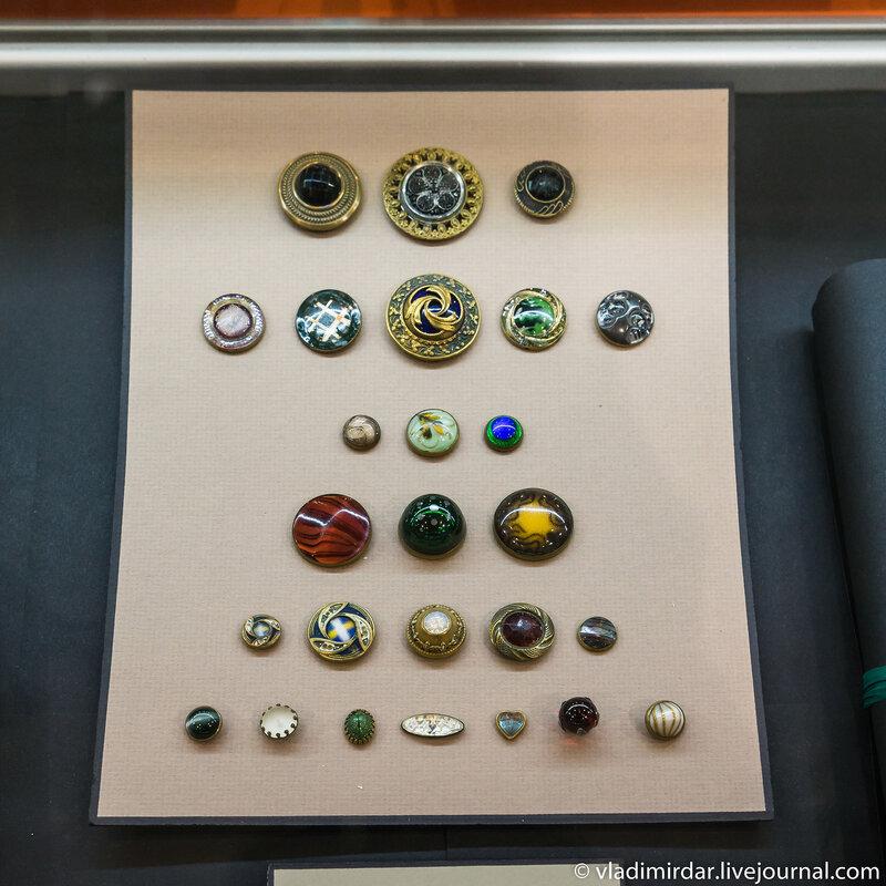 Коллекция редких винтажных пуговиц