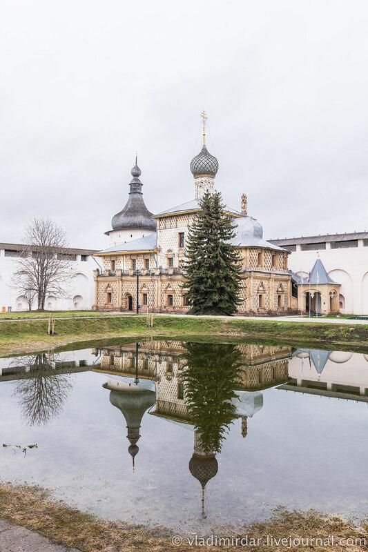 Церковь Одигитрии. Ростовский кремль.