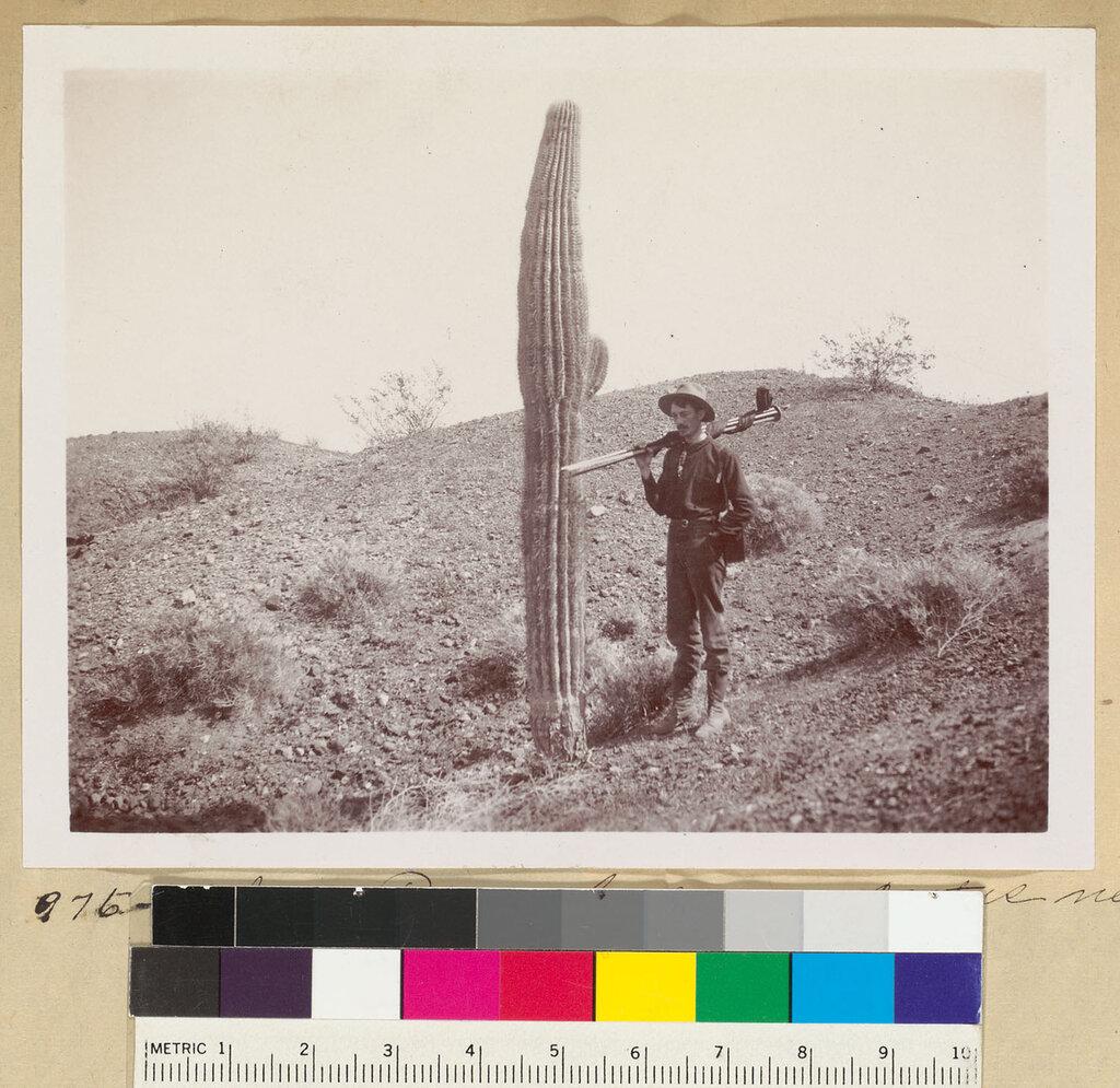 Men pose next to cactus on the Colorado River-FID4.jpg