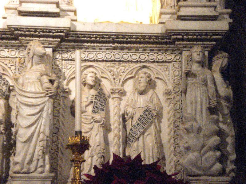 011-аллегории милосердия и религии, апостолы Фома и Варфоломей.jpg