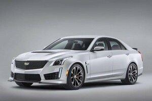 Cadillac презентовал «заряженный» Cadillac CTS-V