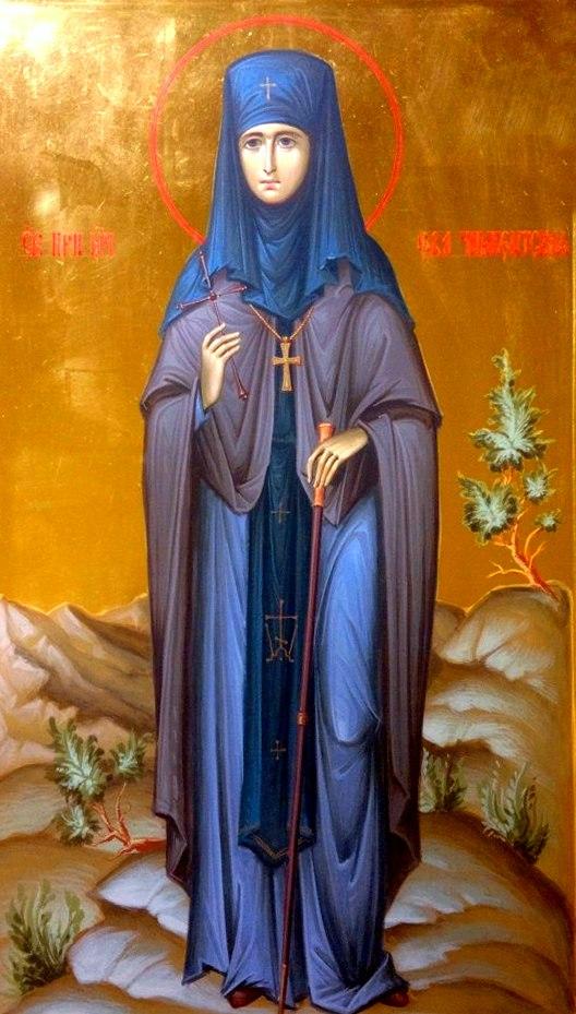 Αποτέλεσμα εικόνας για Преподобномученица Ева Чимкентская