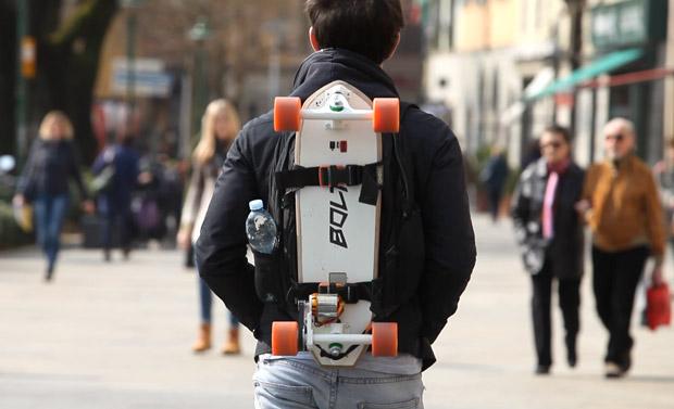 Электрический скейтборд для города