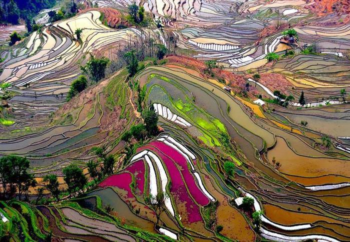 Красивые и величественные фотографии видов сверху