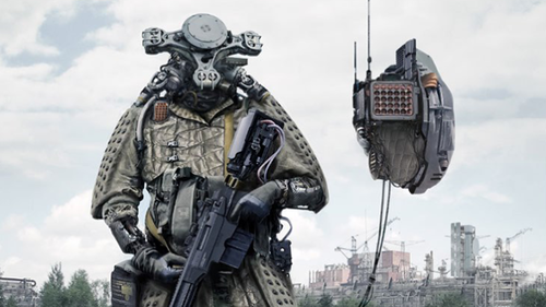 роботы боевые фото
