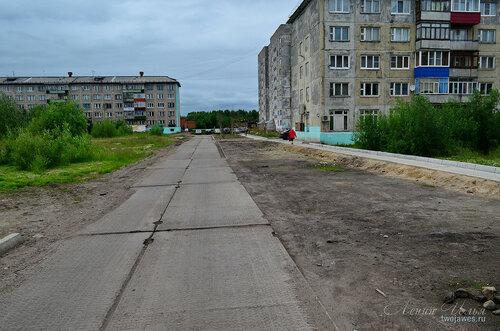 Фото города Инта №7926  Мира 56, 48 и 44 02.07.2015_16:17