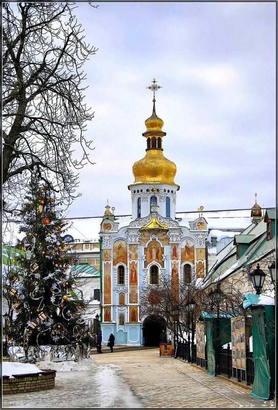 В Киевской Лавре