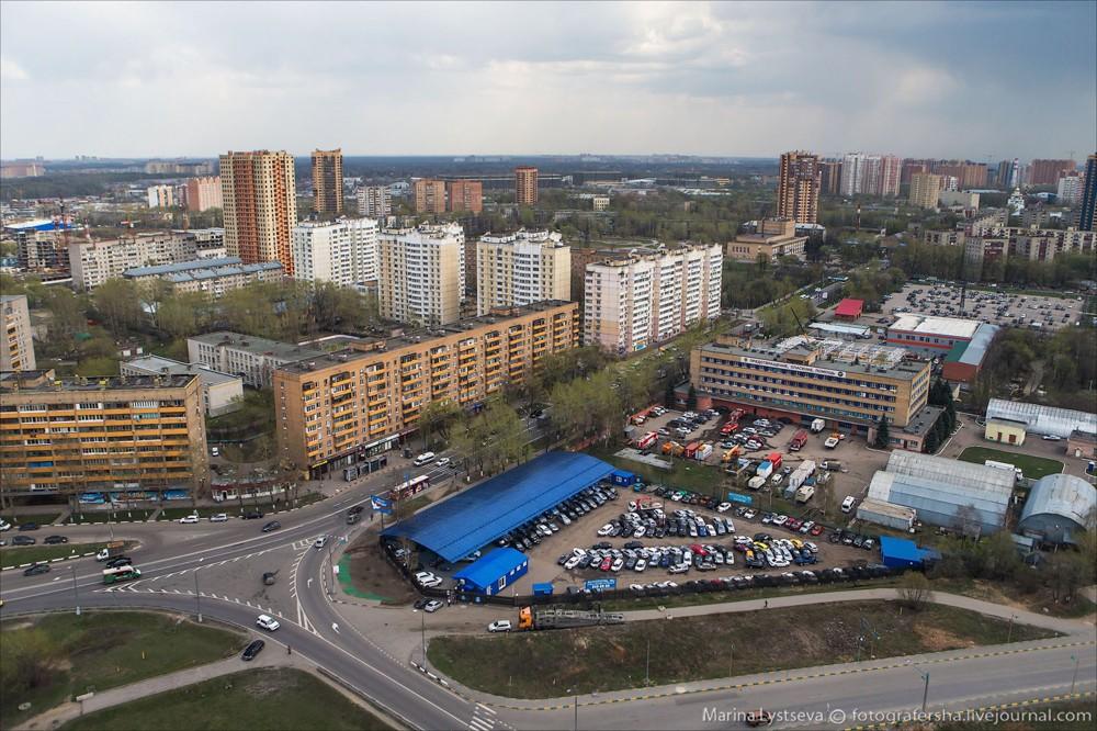56. Реутов, улица Победы.