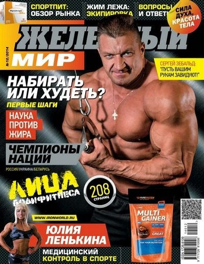 Книга Журнал: Железный мир  №12 (декабрь 2014)