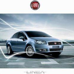 Книга Руководство по эксплуатации автомобиля Fiat Linea