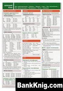 Книга Немецкий язык. Таблицы. pdf 2,63Мб