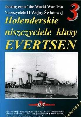 Книга Holenderskie niszczyciele klasy EVERTSEN