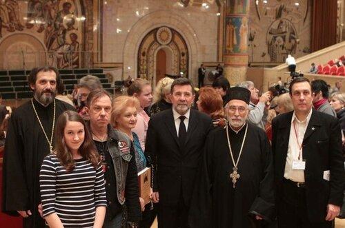 Сербия, посол, детский хор, Храм Христа Спасителя