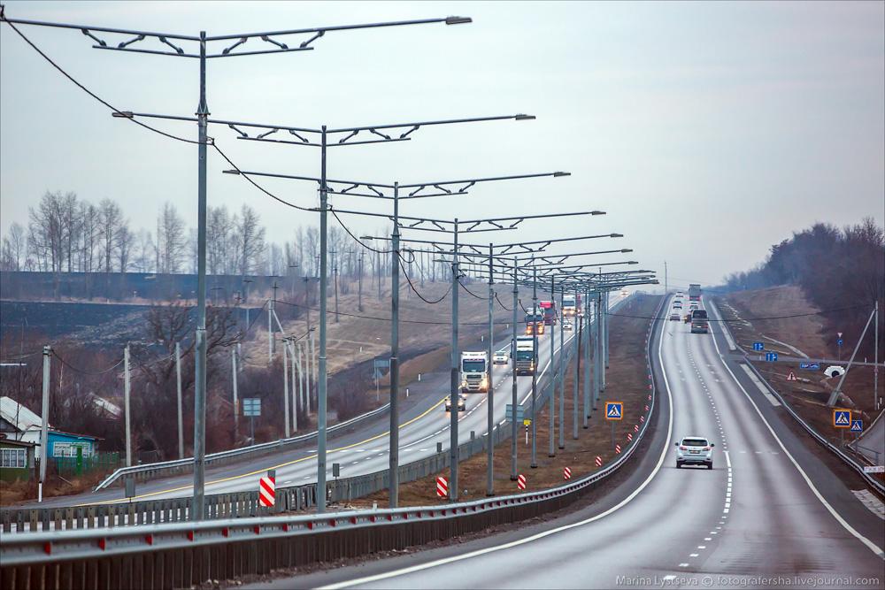 трасса М4 ДОН фото Воронеж