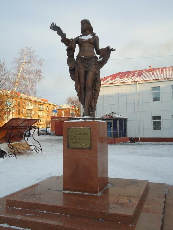 Прокопьевск. Скульптура Нимфа