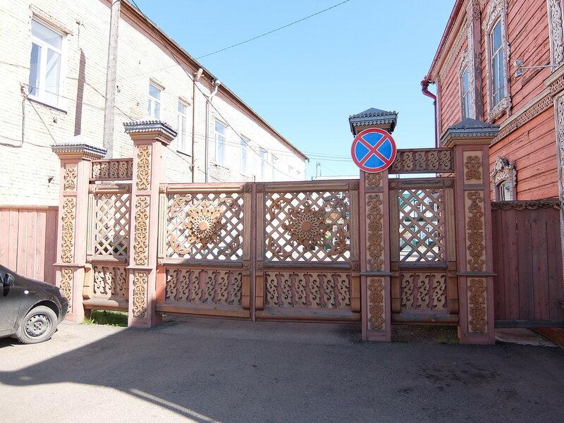 Мариинск - Узорные ворота