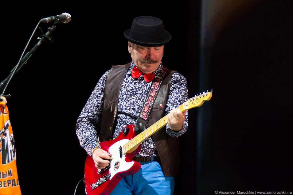 Владимир Бегунов на концерте в Саранске 16.04.2015
