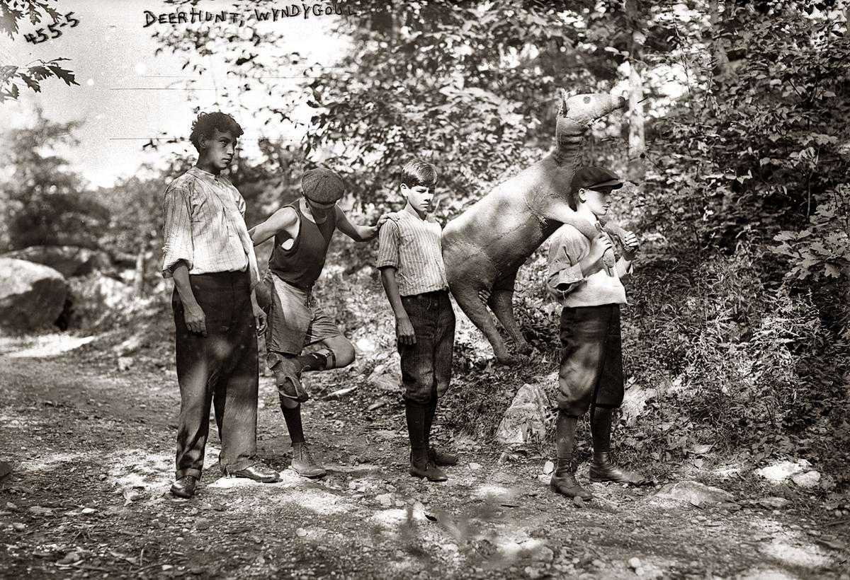 Американские бойскауты начала 20-го века на снимках фотографов (5)