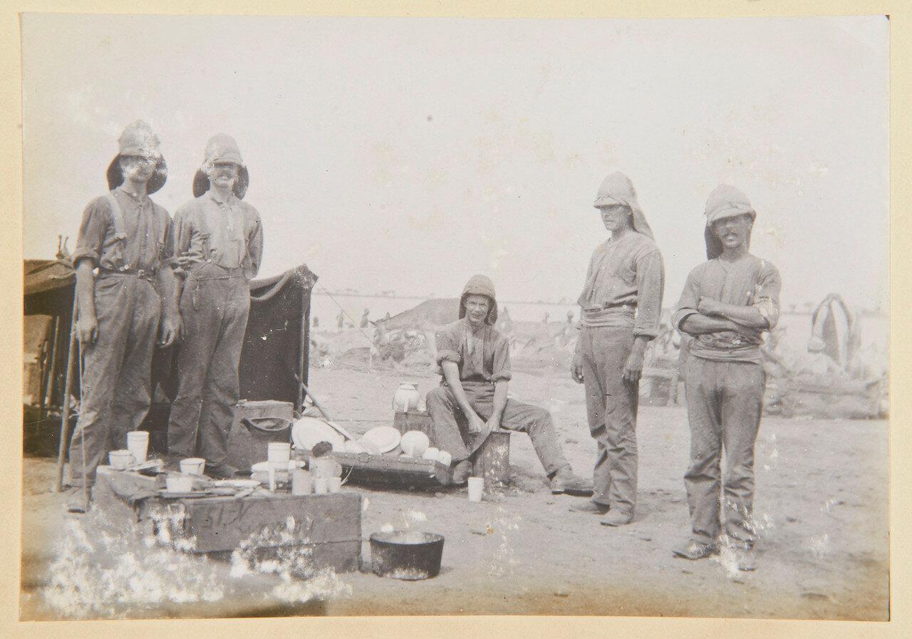 1-й батальон гвардейских гренадер. Официанты и повара