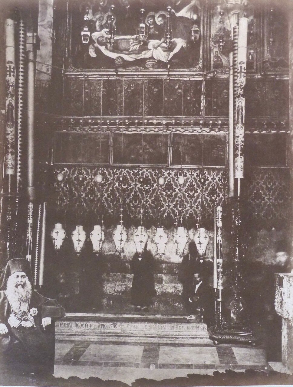 Иерусалим.  Храм Гроба Господня. 1882.