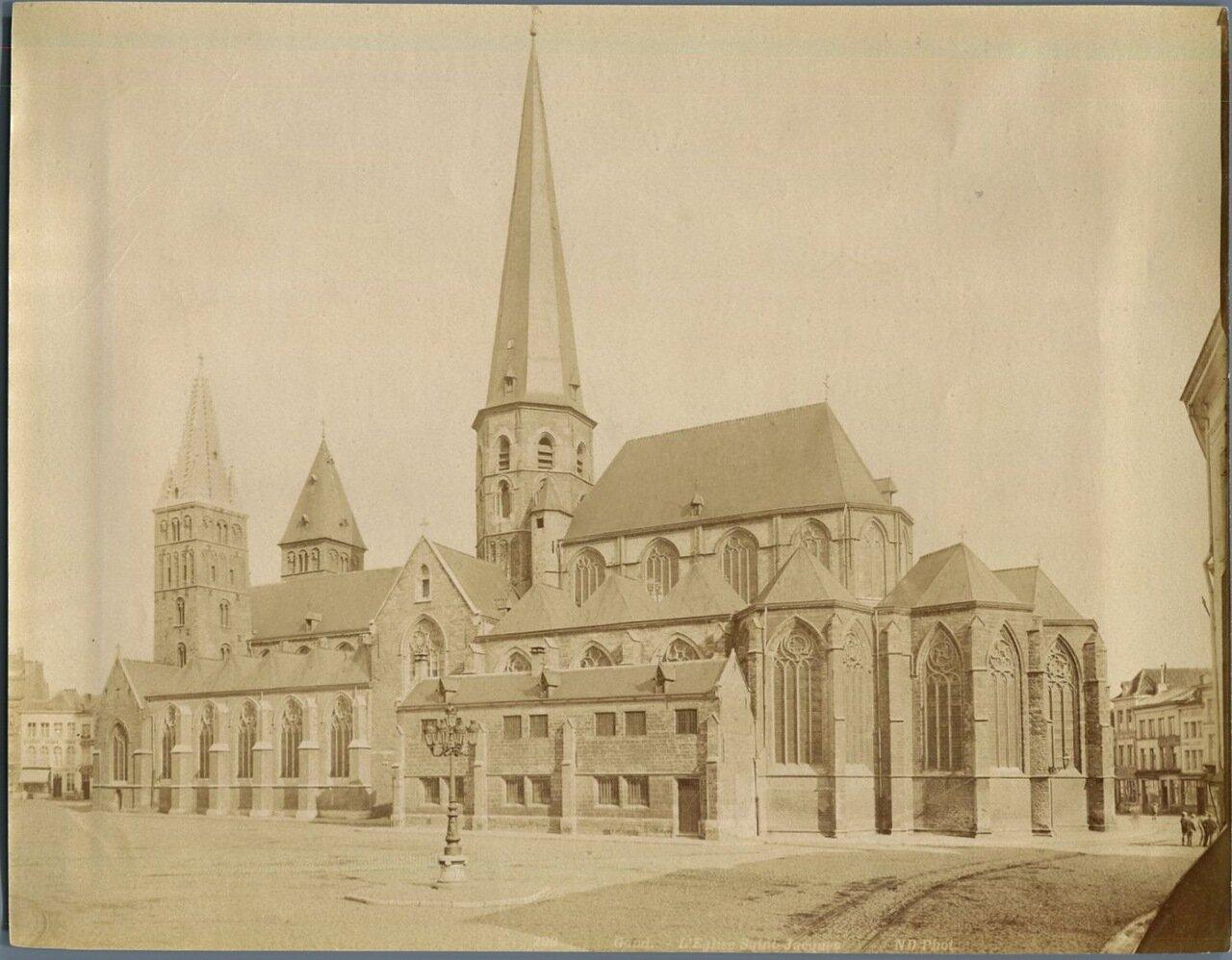 Гент. Церковь Сен-Жак
