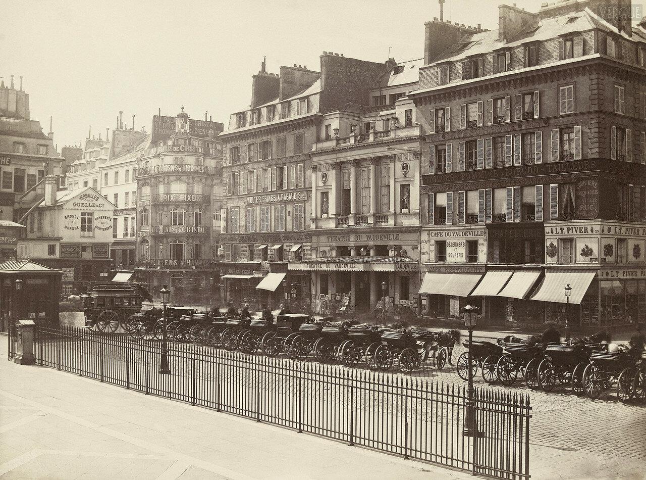 Театр Водевиль на Рю Вивьен, 1866