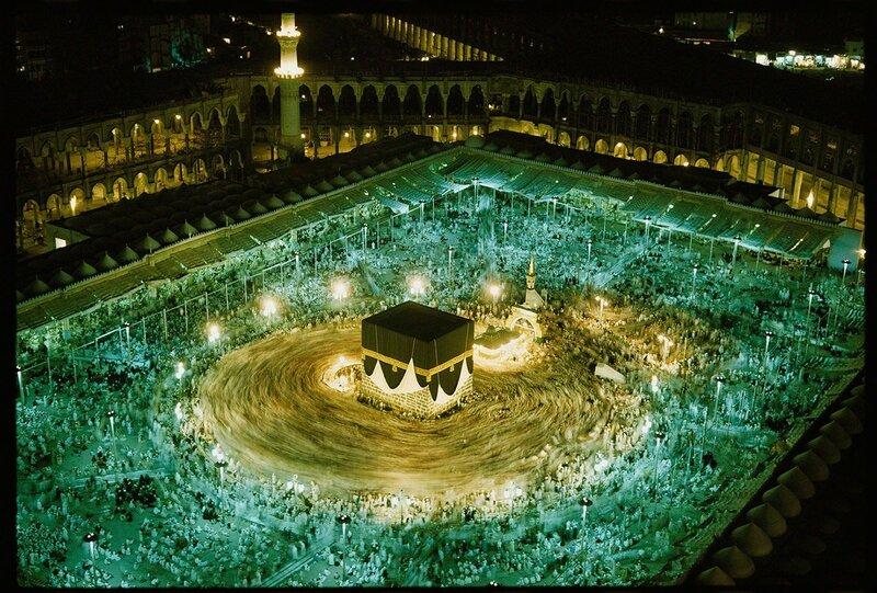1965 Kaaba in Mecca by Thomas J. Abercrombie.jpg
