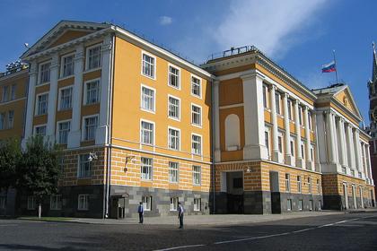 В январе следующего года приступят к сносу четырнадцатого корпуса Кремля