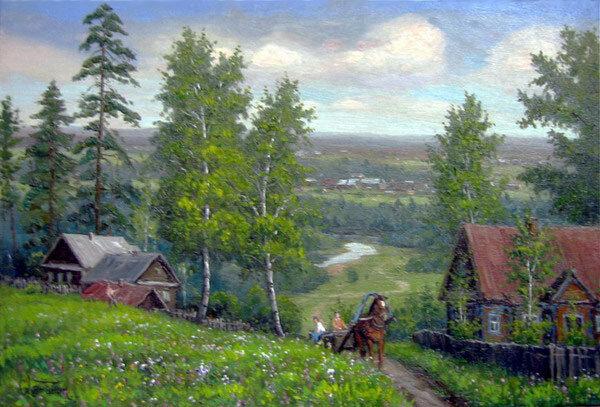 Весна. Живопись Хананина Сергея Васильевича