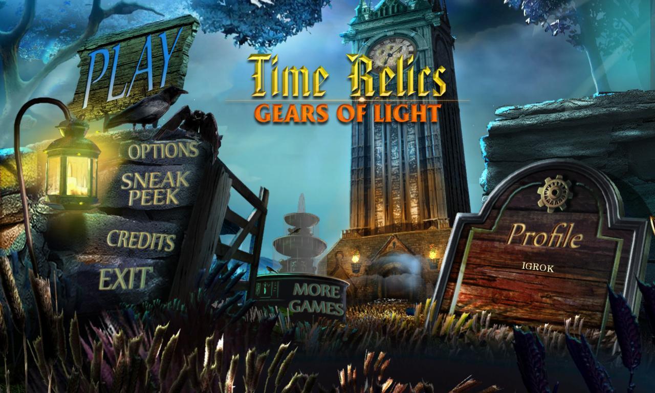 Тайны Времени: Механизм Света   Time Relics: Gears of Light (Rus)
