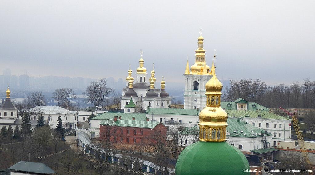 Киев в Вербное Воскресенье