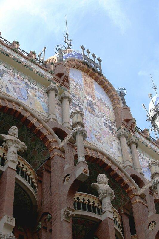 Дворец каталонской музыки (Palau de la Música Catalana), Барселона