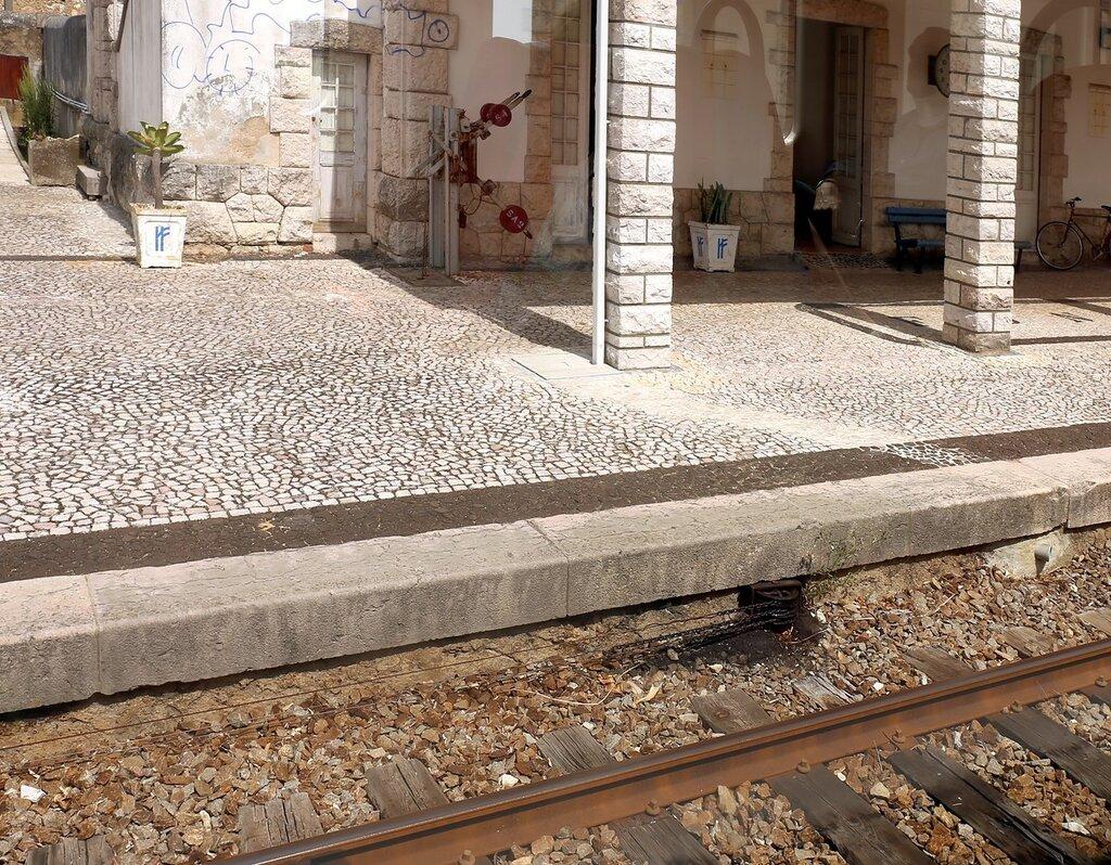 Португальские железные дороги. Механический привод стрелок