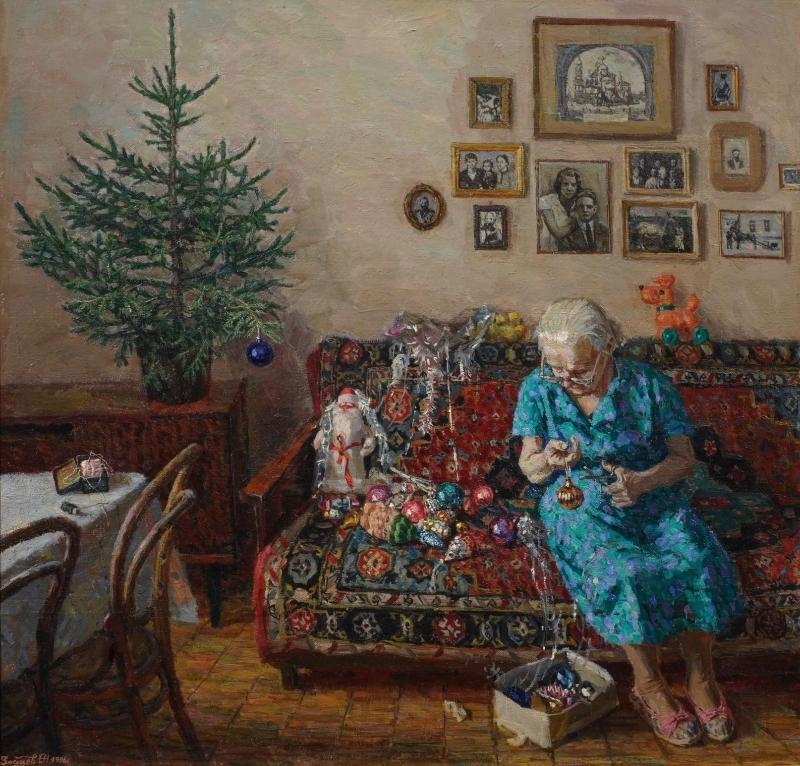 """Егор Зайцев """"Рождественская ёлка"""", 1996"""