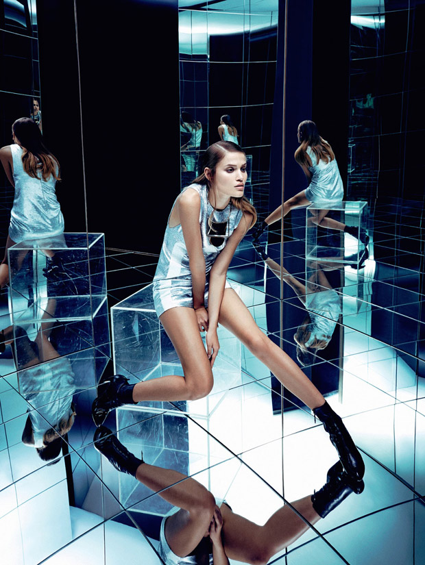 Соня Горелова (Sonya Gorelova) в журнале Harper's Bazaar Brazil
