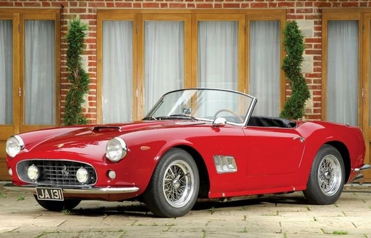 Модель Ferrari 250 GT SWB California Spyder стала ремейком выигравшей множество наград 250 GT Berlin