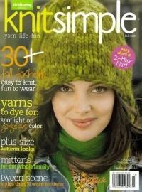 Журнал Vogue knitting. Knit Simple fall 2007