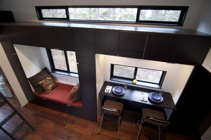 Уютный дом в вагончике