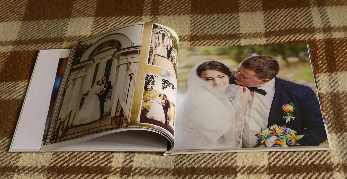 21. Пример свадебной фотокниги