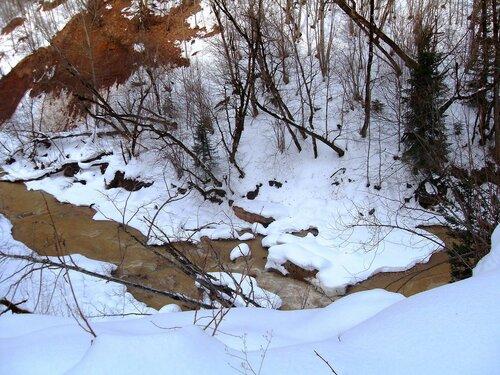 В снегах, реки теченье ... SDC18695.JPG
