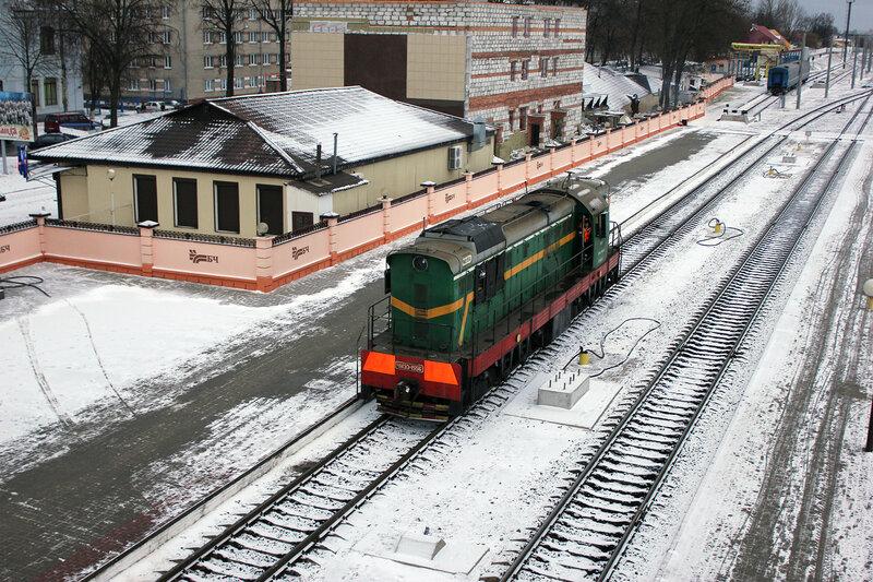 ЧМЭ3-1556 на станции Гомель