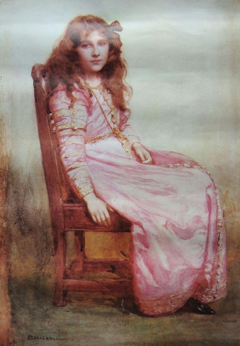 Ее Величество Королева Елизавета, Королева-мать, когда Элизабет Боуз Леди-Лион
