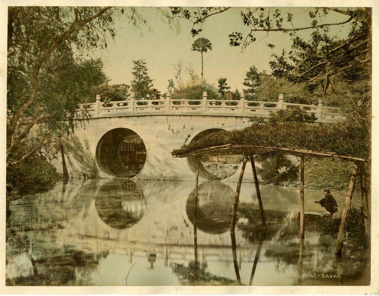 Нагасаки. Мост Мегане Баши