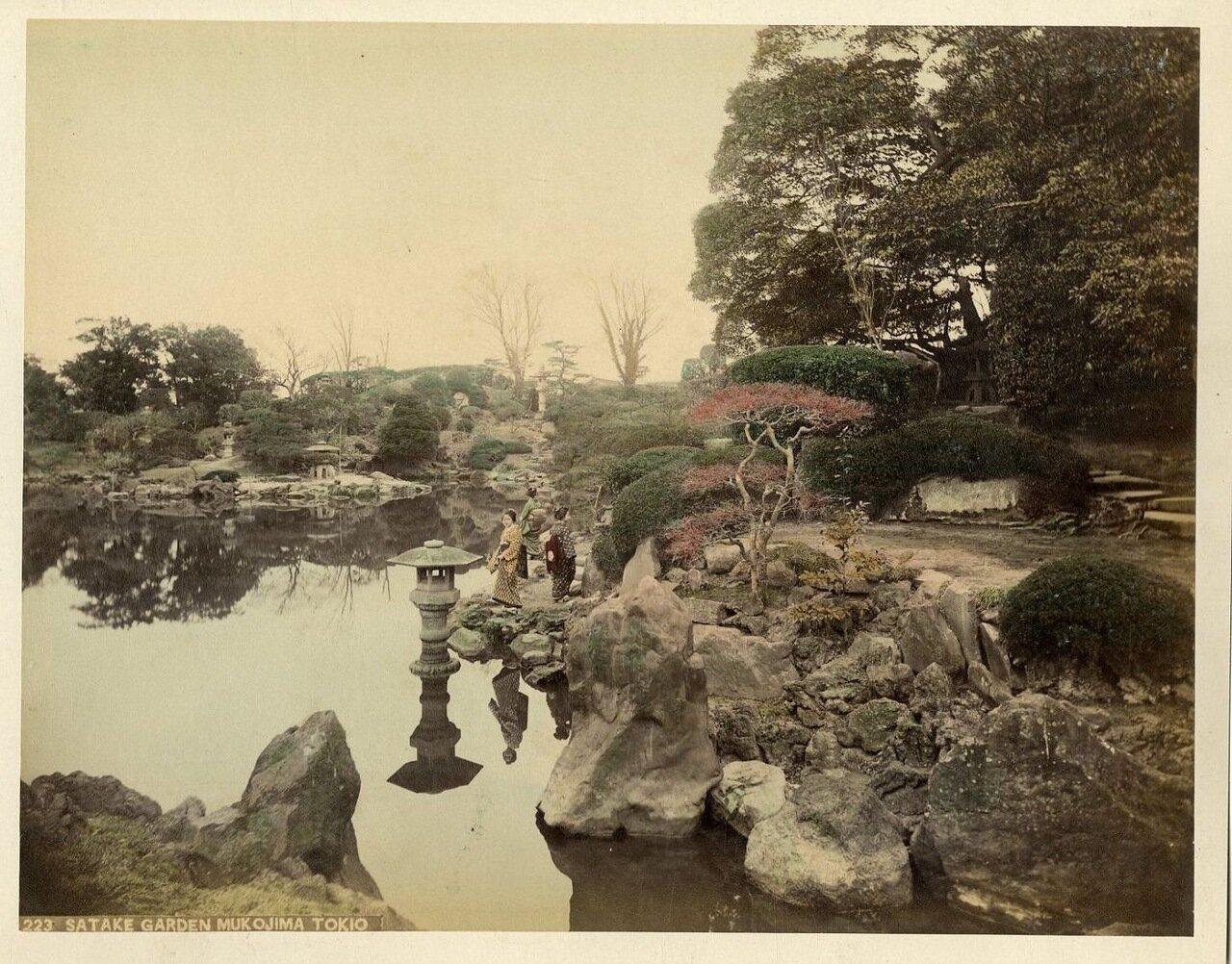 Токио. Сад Сатакэ, Мукодзима