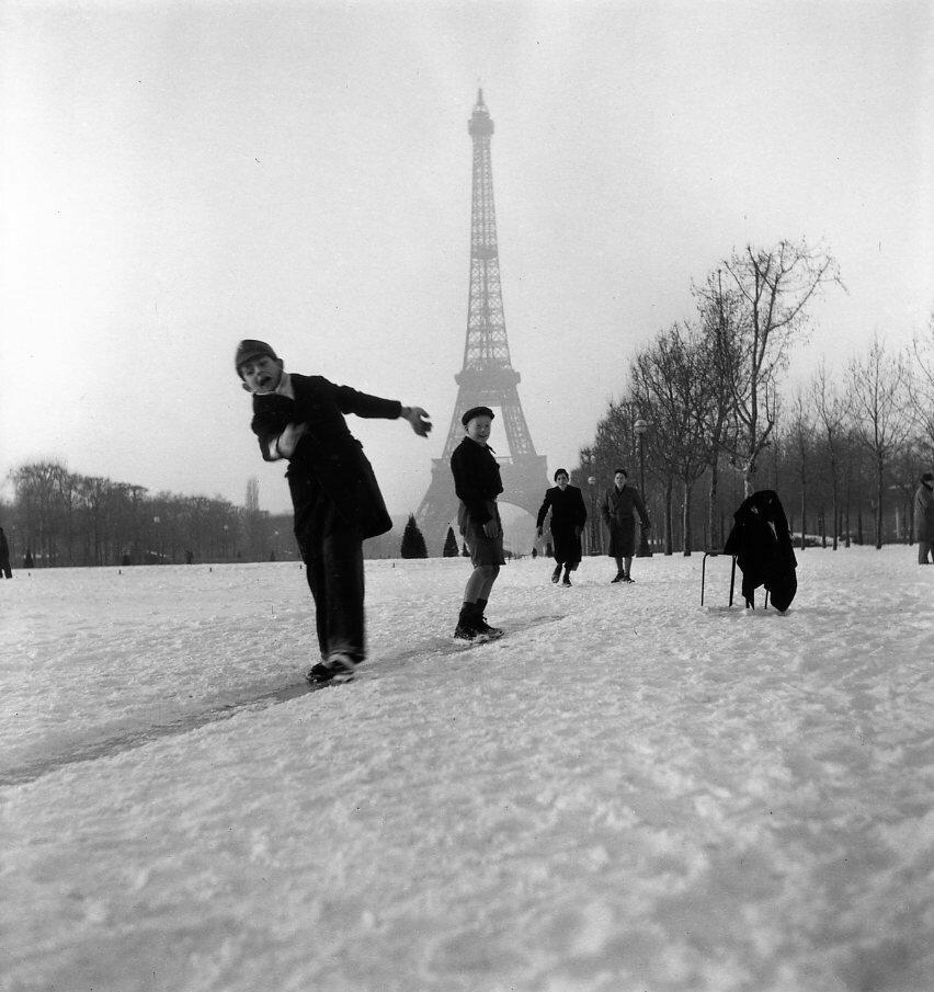 1945. Зима