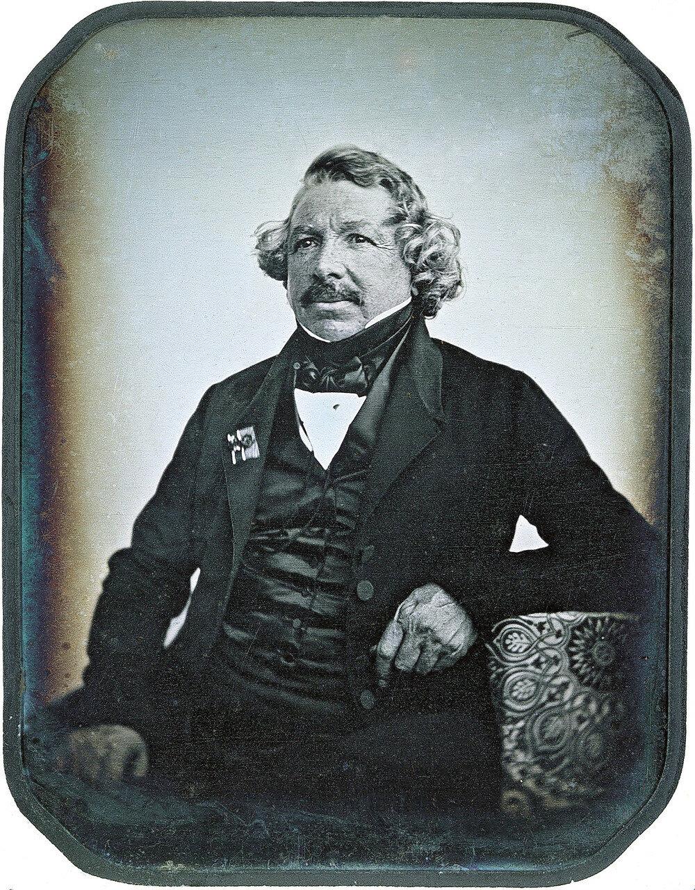 1844. Луи Дагер