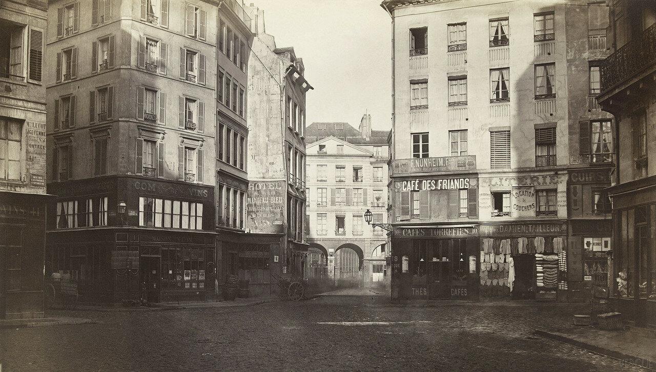 Пляс де Сант-Опортюн. 1865