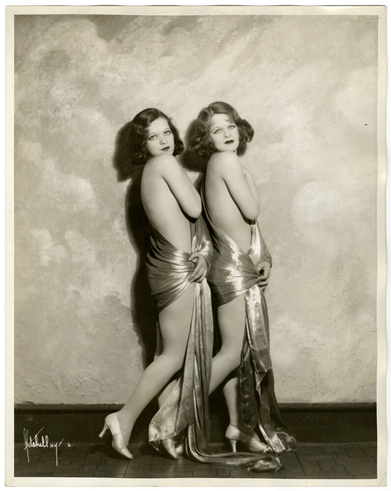 The Collette Sisters by Herbert Mitchell, 1931.jpg