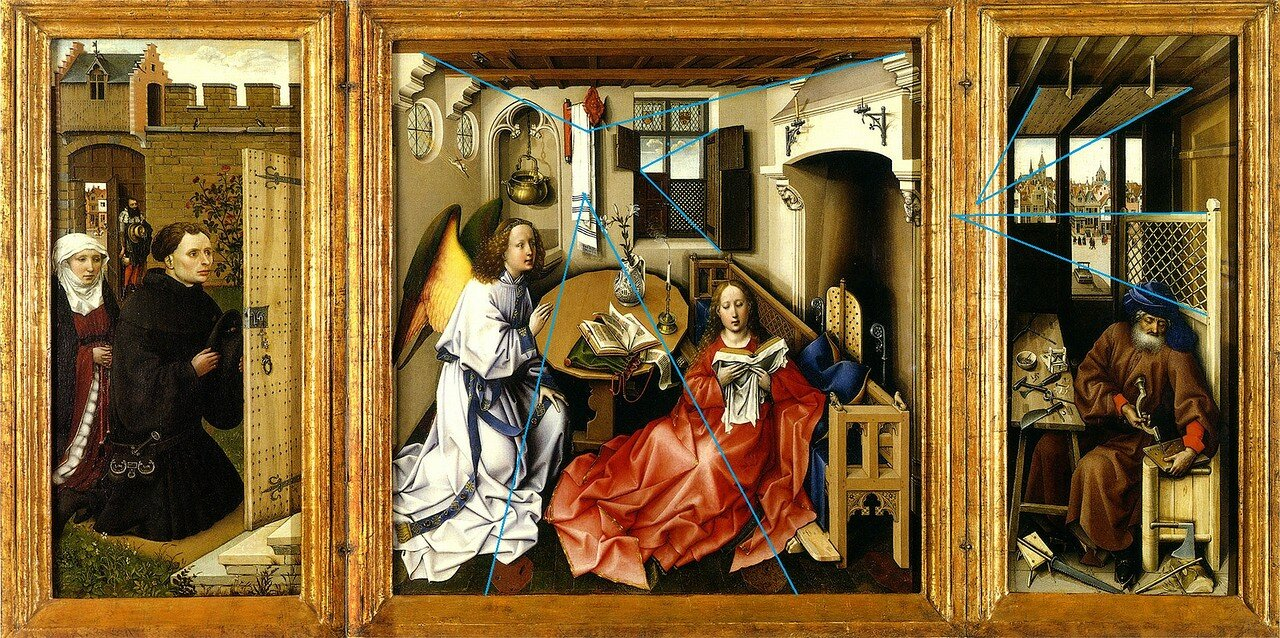 a look at the 15th century technique of composition Portinari altarpiece ranks alongside the finest religious art of the 15th century by flemish painters such as broederlam (1350-1411 composition the central.