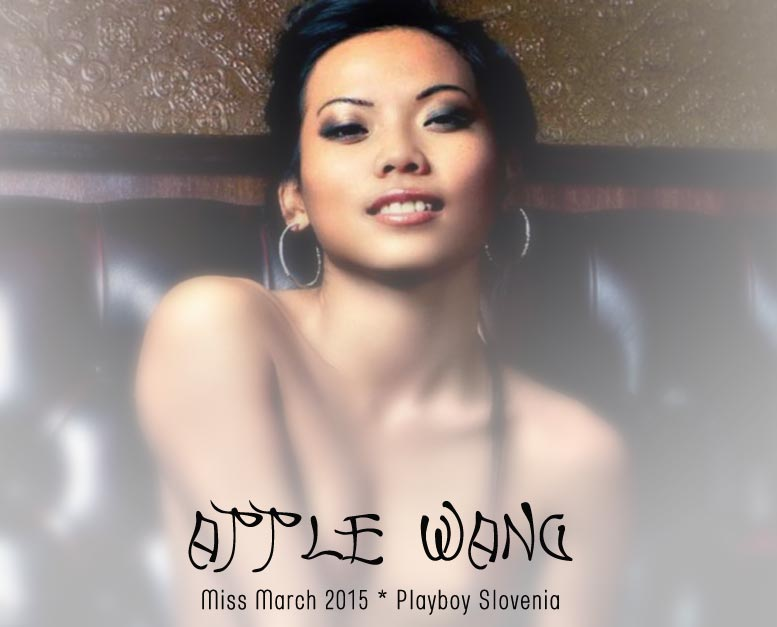 Девушка месяца Apple Wang - Playboy Slovenia March 2015 playmate